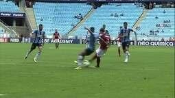 Os gols de Grêmio 1 x 1 Atlético-GO pela 37ª rodada do Campeonato Brasileiro