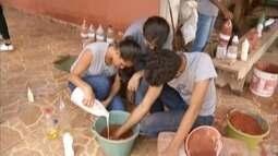 Professor de zona rural de Tarumirim incentiva alunos a terem mais interesse por Ciências