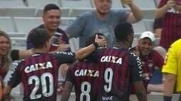 Os gol de Atlético-PR 3 x 0 Palmeiras pela 38ª rodada do Campeonato Brasileiro