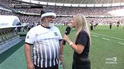 Vozão TV - Torcida e jogadores comemoram o acesso na partida contra o ABC