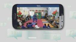 Judocas divulgam atividade no Tô na Rede