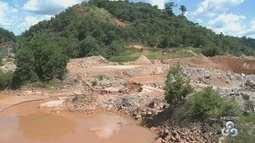 No AP, laudo prevê risco de rompimento de barragem em garimpo investigado pela PF
