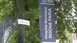 Hospital Rocha Faria está sem material até no CTI