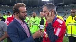 Treinador do Independiente elogia Flamengo e lamenta saída de revelação