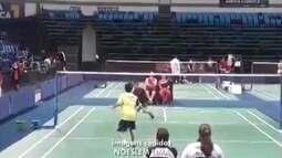 Atleta conquista medalha inédita no Badminton