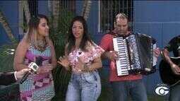 Banda Xamego de Menina se apresenta em Maceió