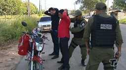 Polícia Militar realiza fiscalização na PA-370, em Santarém