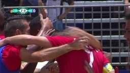 Os gols de Lokomotiv 5 x 4 Pars Jonoubi pelo Mundialito de Clubes de futebol de areia