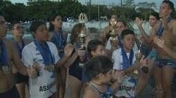 Equipe Aquática Marinho avalia de forma positiva a participação em competições em 2017