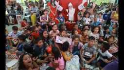 Edição de Natal do É do Pará teve presença do Papai Noel e Coral Blindados