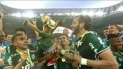 Clube dos 7: Relembre o título brasileiro do Palmeiras em 2016