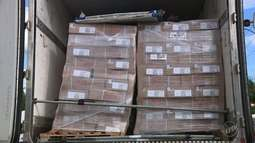 BAEP de Campinas apreende carga de quase trinta toneladas de carne roubada em Bauru