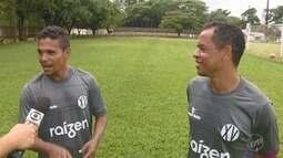 """Jobinho e Fabinho formam dupla """"baixinha"""" no ataque do XV de Piracicaba na A2 Paulista"""