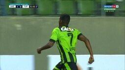 Os gols de América-MG 2 x 0 Tupi pelo Campeonato Mineiro