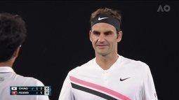 Aos 36 anos, Federer alcança a trigésima final de Grand Slam no Aberto da Austrália