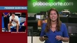 GE no Giro traz preocupação da WADA, Federer empolgado e o Bolt brasileiro