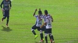 O gol de Brusque 0 x 1 Ceará pela 1ª fase da Copa do Brasil