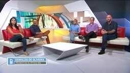 Por telefone, Oswaldo de Oliveira fala sobre discussão com repórter