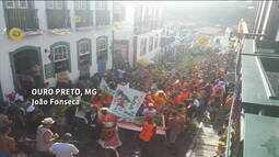 Veja como foi o domingo de carnaval pelos olhos dos assinantes