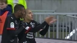 Os gols de Lyon 0 x 2 Rennes pela 25ª rodada do Campeonato Francês