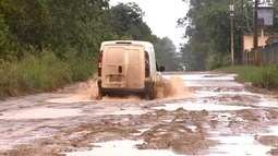 Moradores e motoristas reclamam de vias intrafegáveis em ramal na Zona Oeste de Macapá