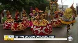 Encontro Cultural leva apresentações de maracatus e shows para Buenos Aires