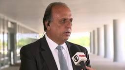Pezão fala sobre intervenção na segurança do Rio de Janeiro