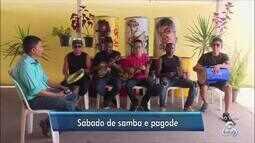 Shory e banda animam o Jornal do Amapá 1ª edição com muito samba