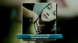 Jovem de 23 anos é morta a tiros em praça de Quedas do Iguaçu