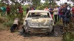 Taxista pode ter sido carbonizado junto com carro em ramal de Macapá, diz polícia