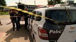 PM reage a assalto em ponto de ônibus e suspeito é morto, na BR-101, ES
