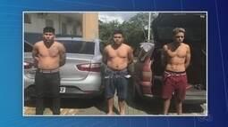 Trio é preso após invadir casa em tentativa de furto, na Zona Centro-Oeste de Manaus