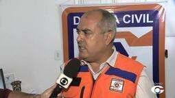 Defesa Civil trabalha para solucionar problemas provocados pelas chuvas em Alagoas