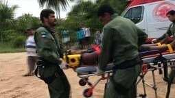 Garoto se fere após cair em cima de um vergalhão em São Miguel dos Milagres