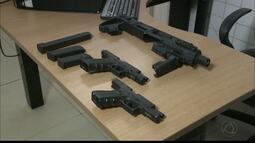 JPB2JP: Armas de uso restrito do Exército são apreeendidas
