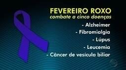 Fevereiro roxo reforça cuidados para doenças