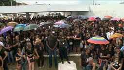 Agentes de endemias e saúde realizam protesto em São Luís