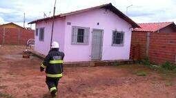 Casa tem início de incêndio em Palmas, após morador esquecer celular na tomada