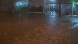 Tempestade provoca alagamentos no Rio