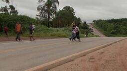 Moradores reclamam da falta de sinalização e insegurança numa região da DF-180