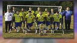 Seleção brasileira é vice-campeã do sul-americano de futebol de amputados na Argentina