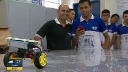 Estudantes de escola técnica estadual no Recife despontam na criação tecnológica