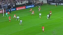 Corinthians tem vitória na Libertadores