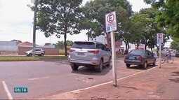 Flagrantes de infrações de trânsito