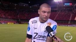 Bragantino está fora da Copa do Brasil