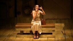 Espetáculo da atriz Mônia Martelli é um dos destaques do fim de semana no 'Programão'