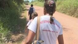 Pais reclamam de transporte escolar em bairros de Iguape