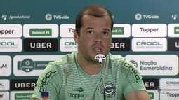 Goiás mira duelo contra o Rio Verde e tem Tiago Luís à disposição