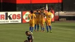 Os gols de Atlético-GO 1 x 3 Iporá - 13ª rodada do Campeonato Goiano
