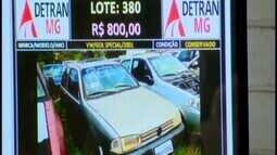 Polícia Civil realiza leilão de veículos apreendidos